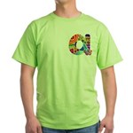 Monogram A Green T-Shirt