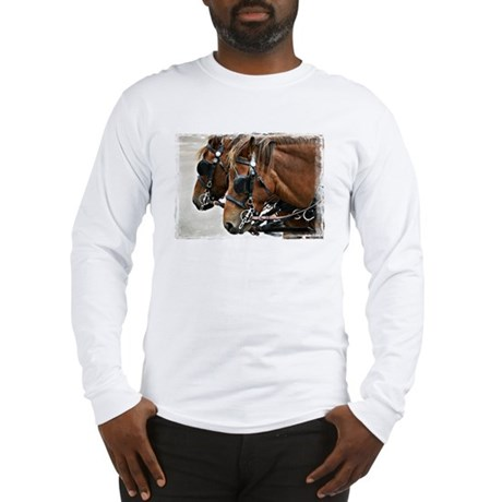 Carriage Horse Long Sleeve T-Shirt