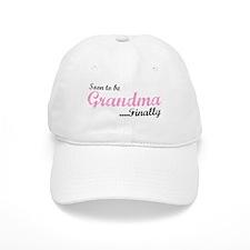 Soon to be Grandma Baseball Cap
