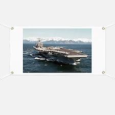 CVN 72 Ship's Image Banner