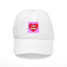 I Love Snoopy Baseball Cap