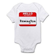 Hello my name is Remington Onesie