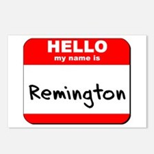 Hello my name is Remington Postcards (Package of 8