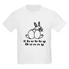 Chubby Bunny Kids T-Shirt