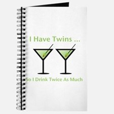 I have twins, so I drink twic Journal