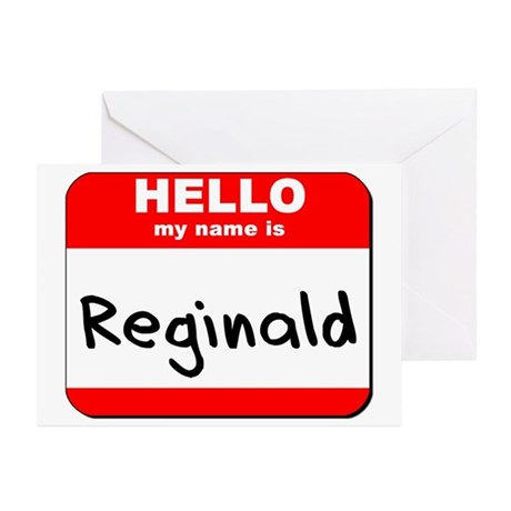 Hello my name is Reginald Greeting Cards (Pk of 10