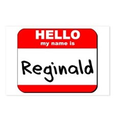 Hello my name is Reginald Postcards (Package of 8)