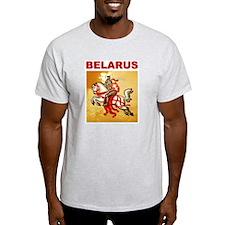 Belarus National Pahonia symbol Ash Grey T-Shirt