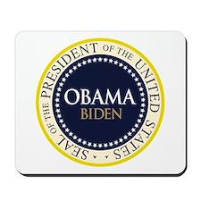 Obama-Biden Seal Ring Mousepad