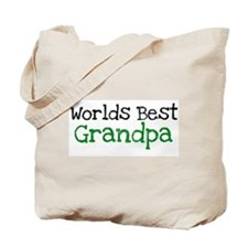 Worlds Best Grandpa Tote Bag