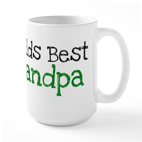 Worlds Best Grandpa Large Mug