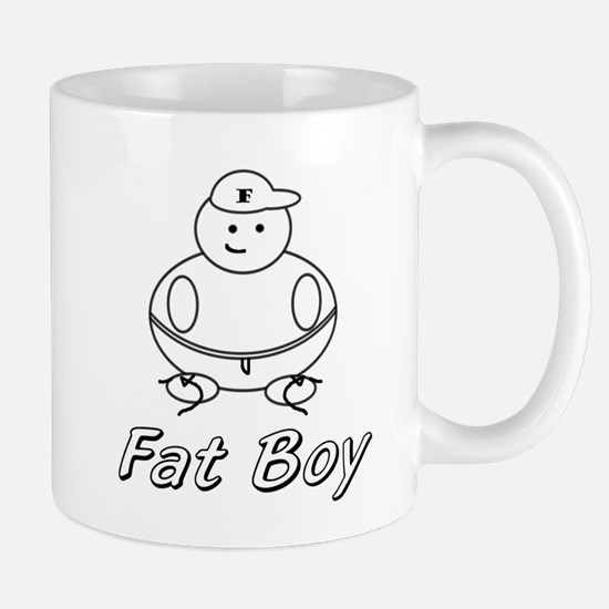Unique Fat boy Mug