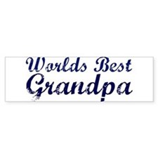 Worlds Best Grandpa Bumper Bumper Stickers
