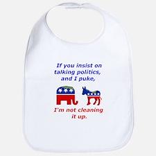 Politico Puke Bib