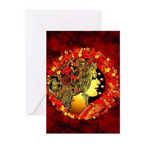 Autumn's Entrance Greeting Cards (Pk of 10)