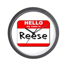 Hello my name is Reese Wall Clock