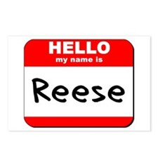 Hello my name is Reese Postcards (Package of 8)