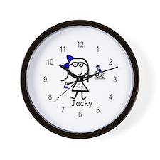 Microscope - Jacky Wall Clock