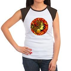 Autumn's Entrance Women's Cap Sleeve T-Shirt