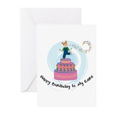 Deafness Greeting Cards (Pk of 10)