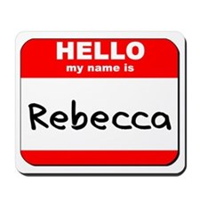 Hello my name is Rebecca Mousepad