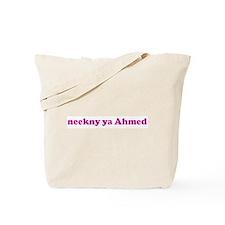 neekny ya Ahmed Tote Bag