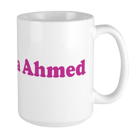 neekny ya Ahmed Large Mug