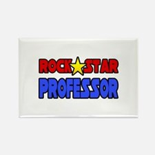 """Rock Star Professor"" Rectangle Magnet"