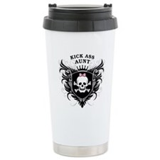 Kick Ass Aunt Travel Coffee Mug