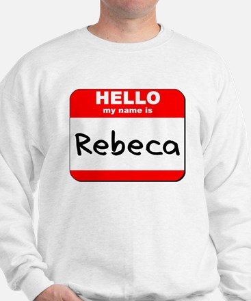 Hello my name is Rebeca Sweater