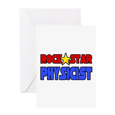 """Rock Star Physicist"" Greeting Card"