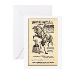 Malt Extract Greeting Cards (Pk of 10)