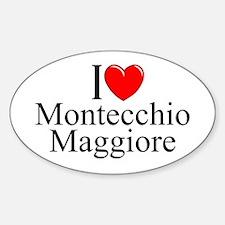 """""""I Love (Heart) Montecchio Maggiore"""" Decal"""