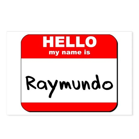 Hello my name is Raymundo Postcards (Package of 8)