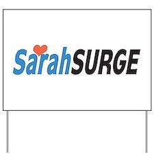 Sarah Palin Surge Yard Sign