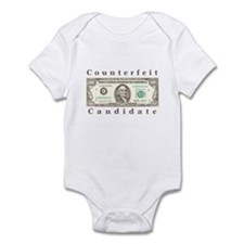 Counterfeit Candidate Infant Bodysuit