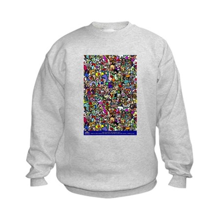 Find the normal guy Kids Sweatshirt