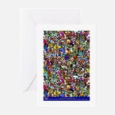 Find the normal guy Greeting Cards (Pk of 10)