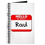 Hello my name is Raul Journal