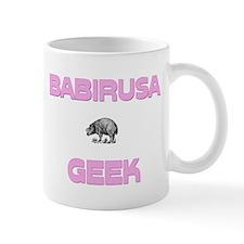 Babirusa Geek Mug