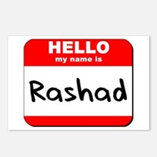 Hello my name is Rashad Postcards (Package of 8)