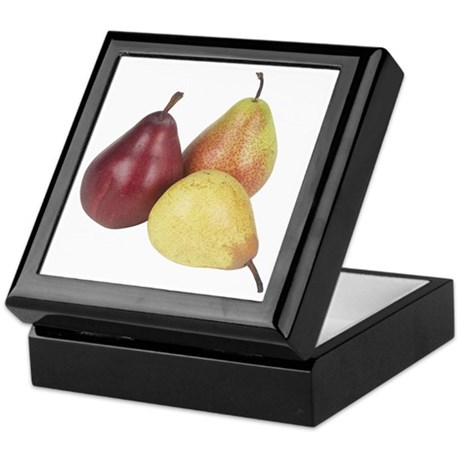 Some Pears On Your Keepsake Box
