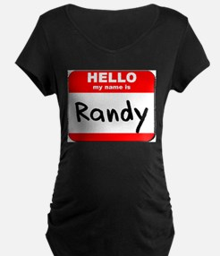 Hello my name is Randy T-Shirt