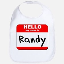 Hello my name is Randy Bib