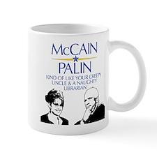 McCain/Palin Creepy Uncle/Na Mug