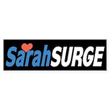 Sarah Palin Surge Bumper Bumper Sticker
