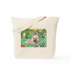Irises/Cairn #4 Tote Bag