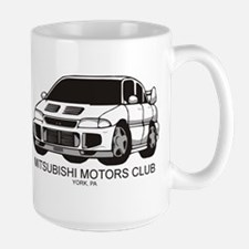 Mitsubishi Motors Club Mug