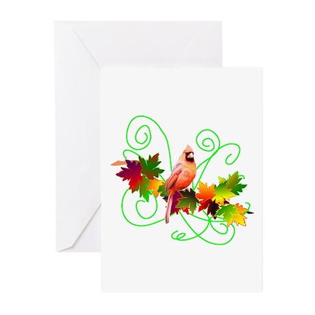 Cardinal Design Greeting Cards (Pk of 10)