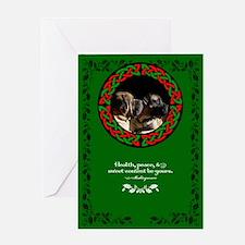Celtic Mastiff Pair Greeting Card